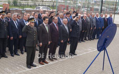 Polis Teşkilatının 173. kuruluş yılı Of'ta kutlandı