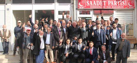 Saadet Dernekpazarı'nda Ali Yılmaz ile devam ediyor