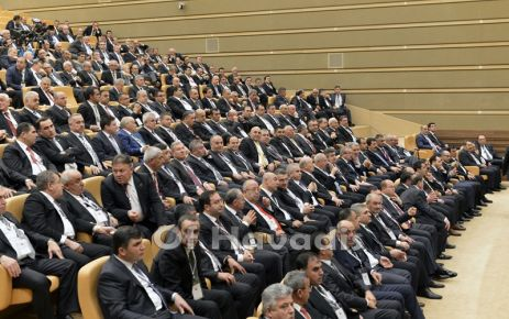 Saral'dan Cumhurbaşkanı Erdoğan 'a hayırlı olsun ziyareti