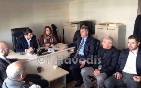 Sarıalioğlu ve ilçe teşkilatı ziyaret temposunu arttırdı