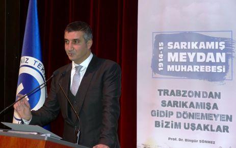 Sarıkamış şehitleri Trabzon'da anıldı