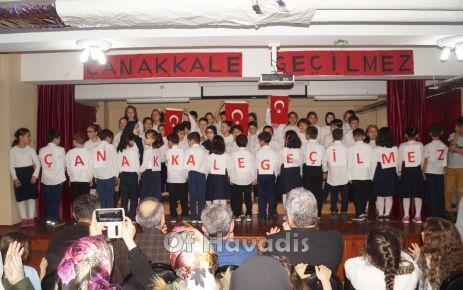 Şehit Öğretmen Ali Bulut'un miniklerinden Çanakkale