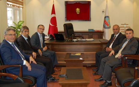 Şentürk ve Yaşar'dan Derepazarı ve Kalkandere'ye ziyaret