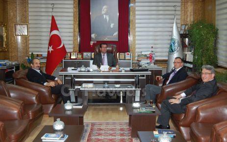 Şentürk ve Yaşar'dan Gümüşhane belediyelerine ziyaret