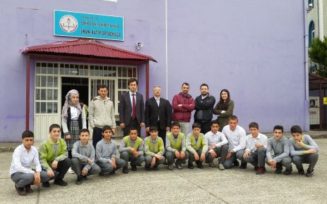 Serince Şehit Fahrettin Yavuz İHO'dan okullara ziyaret