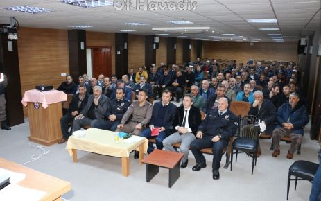 Servis Şoförlerine bilgilendirme semineri