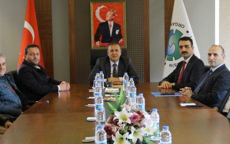 SGK İl Müdürü Erdem Akbay'dan Arsin OSB'ye ziyaret