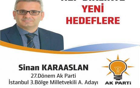 Sinan Karaaslan AK Parti'den Aday Adayı