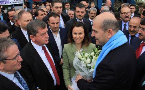 Soylu Çalışma ve SG Bakanı olarak Trabzon'da