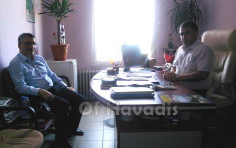 Şube Müdürü Turan göreve başladı