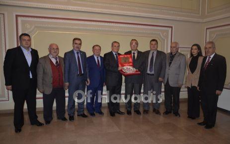 TDF Yönetiminden Vali Yardımcısı Çakıroğlu'na ziyaret