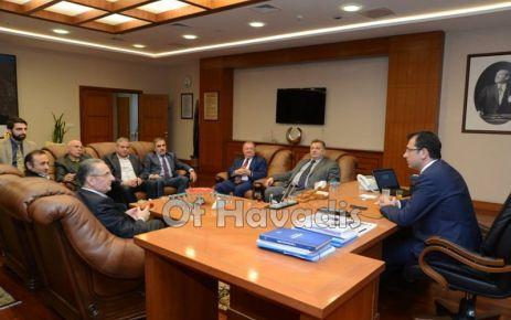 TDF'den Başkanlar İmamoğlu ve Aydıner'e ziyaret