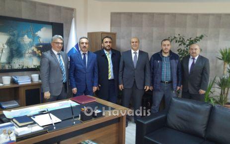 TEİAŞ Trabzon Bölge Müdürü Vural'a ziyaret