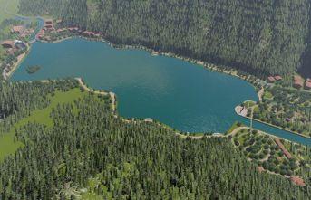 Uzungöl Çevre Düzenleme Projesi ihaleye çıkıyor