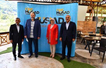Başkan Zorluoğlu'ndan Müsiad Genel Başkanı Kaan'a ziyaret