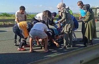 Of'ta aracın çarptığı 4 çocuk annesi kadın vefat etti