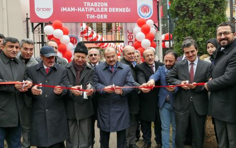 TİH DER'in Hizmet Binası açıldı