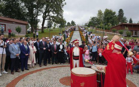 Trabzon Botanik halkın kullanımına açıldı