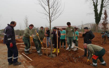 Trabzon Botanik'te 1500 ağaç ve bitki kütüphanesi