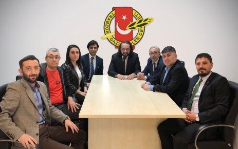 Trabzon Gazeteciler Cemiyeti'nin yeni başkanı Ersen Küçük