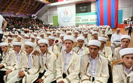 Trabzon Müftülüğünden 451 hafız için tören