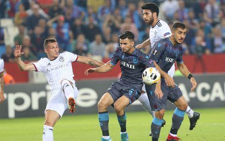 Trabzonspor Basel'i elinden kaçırdı
