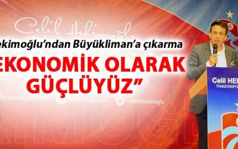 Trabzonspor Başkan Adayı Hekimoğlu hız kesmiyor