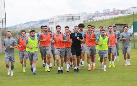 Trabzonspor Cemil Usta sezonu hazırlıklarına başladı