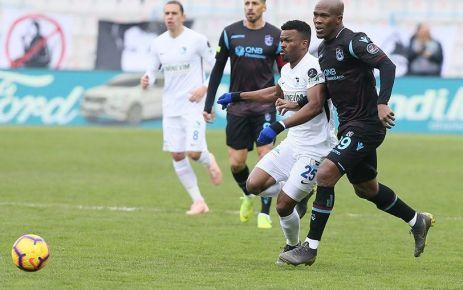 Trabzonspor Erzurumspor'u Nwakaeme ile geçti
