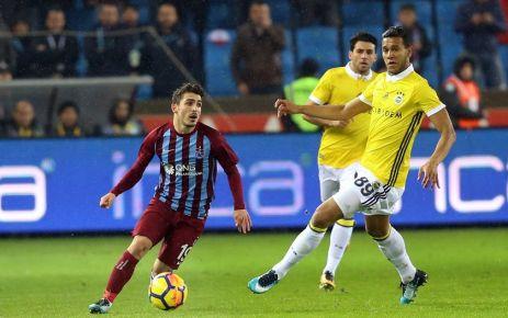 Trabzonspor Fenerbahçe'yle 1-1 berabere kaldı