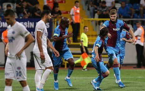 Trabzonspor Kasımpaşa ile berabere aldı