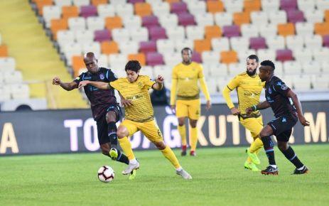 Trabzonspor Malatya'da dağıldı