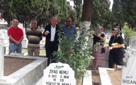 Trabzonspor'un ve TGC'nin Kurucu Başkanı Nemli anıldı