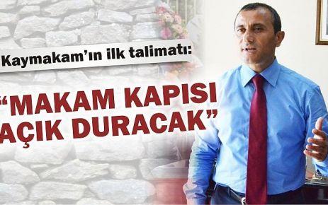 Tuncay Sonel Kadıköy Kaymakamlığı'na atandı
