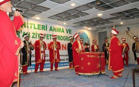 Türkiye Şehitleri Sultan Murat'ta anıldı