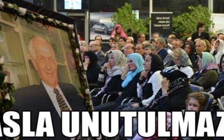Ulusoy vefatının 40.gününde anıldı