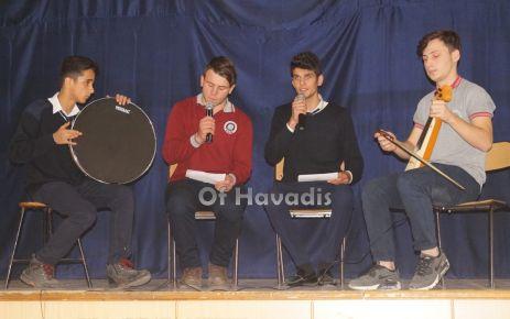 Ulusoylu öğrencilerden Mevlidi Nebi programı