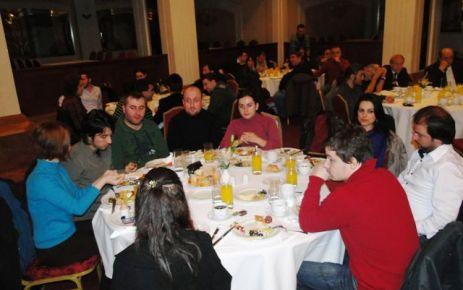 Vali Kızılcık'tan basına kahvaltı