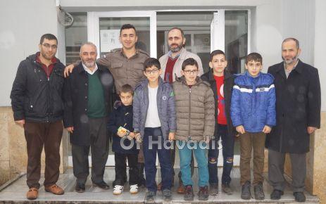 Zehra Hatun Kurs Talebelerinden Afrin Şehitlerine hatim