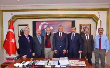 Zengin'den Kaymakam Fırat ve Başkan Sarıalioğlu'na ziyaret