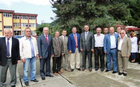 Zonguldak Milletvekili Köksal Toptan Of'ta