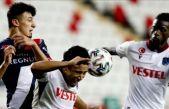 Trabzonspor 90+6'da Afobe ile 1 puanı kurtardı