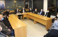 AK Parti'de görev dağılımı yapıldı
