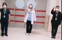 Hastane çalışanlarından videolu 3 Aralık mesajı