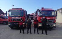 Trabzon Büyükşehir'den Manavgat'a yangın söndürme desteği