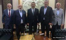 Başkan Sarıalioğlu'ndan Vali Hacıbektaşoğlu'na ziyaret