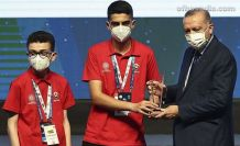Cumhurbaşkanı Erdoğan'dan Of Fen Lisesi öğrencilerine ödül