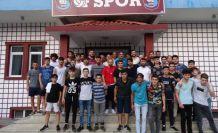 Oflu Gençler'den Ofspor'a ziyaret