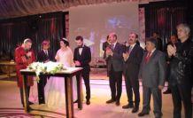 Özkanlı ve Türk ailelerinin mutlu günü