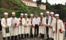 Pınarca'da 10 hafız icazet aldı